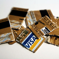 Cut up your credit cards and minimize your lifestyle