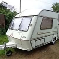 Standard touring caravan