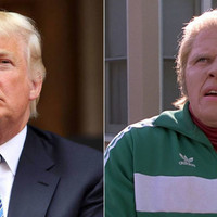 It's rude. Don't compare a great villain to Trump, please!