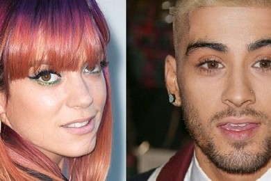 Is Zayn Malik sending naked pics to Lily Allen?