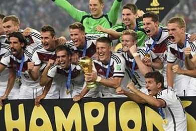 Did Germany deserve to take the World Cup?