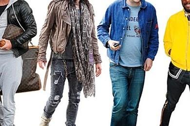 Some guys wear the trashiest creations…i.e those who haven't got a clue