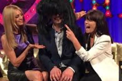 Claudia's fringe = best hair on telly
