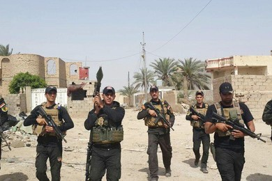 How do you feel knowing that the center of Ramadi is finally free?