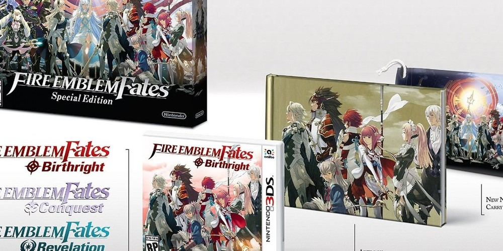 Nintendo's store cancels Fire Emblem Fates Limited Edition Pre-orders