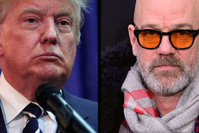 Michael Stipe versus Trump...who's going to win?