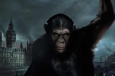 "Are you excited about the ""Dawn of the Planet of the Apes""?!"