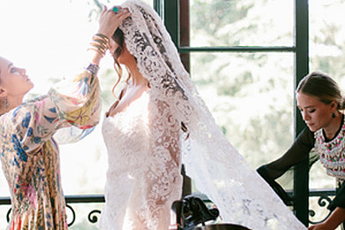 Are you in love with Mary-Kate and Ashley Olsen's wedding dress?!