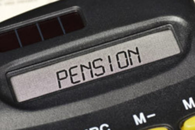 What option do you use as a pension calculator?