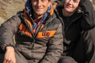 Kate Winslet joins Bear Grylls army with a great senso of humor.
