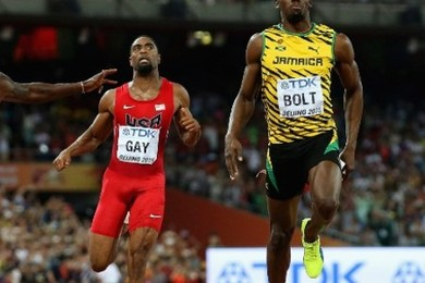 Usain Bolt has won the 100 metres once again. How fantastic was it?