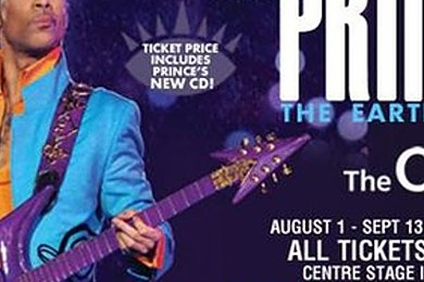 A guy you really don't fancy gets you Prince concert tickets