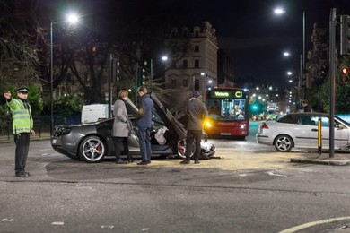Essex man crashes his new McLaren car worth £215,000 after 10 minutes