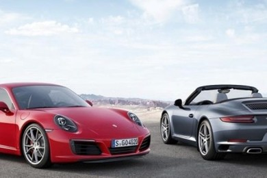 Here it is, this is the new 911 Carrera.