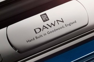 New Rolls Royce Dawn to be exposed next week. Feeling excited?