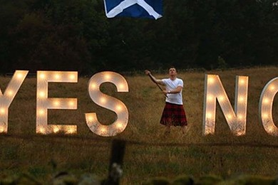 What did you make of the results of the Scottish referendum?