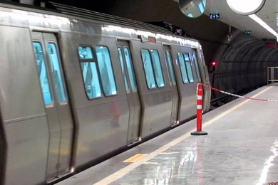 A bomb explodes in metro station in Istanbul wounding up 12 people