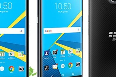 Here's the new Blackberry Priv.