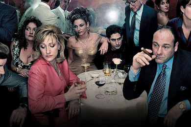 Sopranos re running on Sky Atlantic