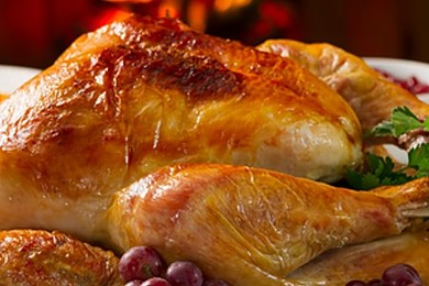 Let's not be silly, it's got to be turkey for Christmas dinner