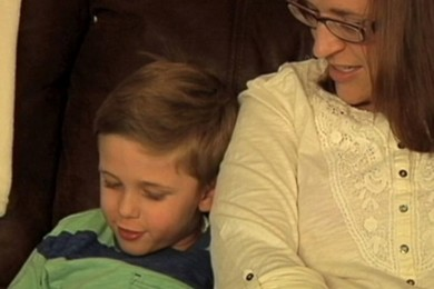 Wisconsin mom saves her life while trying to save her son's