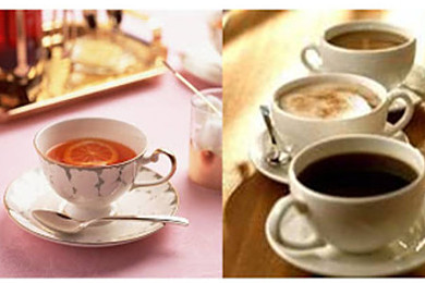 You desperately want a cup of: coffee or tea?