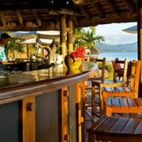 I already opened a cocktail bar on a tropical beach….