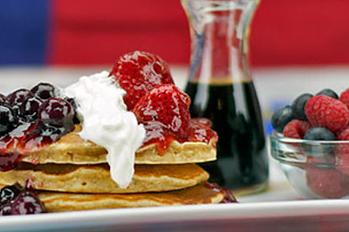 Waffles or pancakes - you can only eat one for the rest of your life