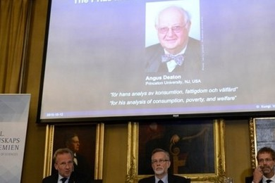 Angus Deaton wins Nobel economic prize