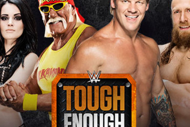 Josh and Sara Lee are the winner of 'WWE Tough Enough'. Feelin' happy?