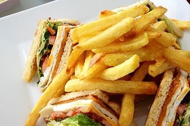 I'm hungover: bring me a club sandwich