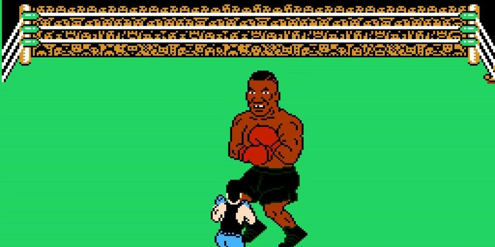 Punch out by Mike Tyson found almost thirty years down the line