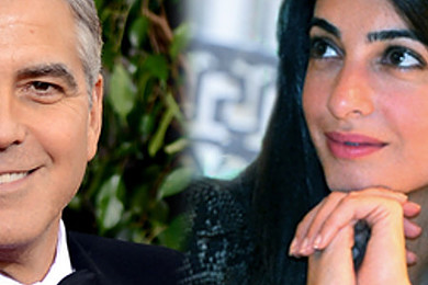 So somebody finally made an honest man of George Clooney
