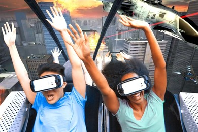 Six Flags plans to bring a new look into its roller coasters