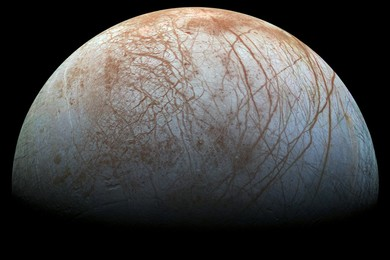 Europa's Ocean with the right Chemistry for life