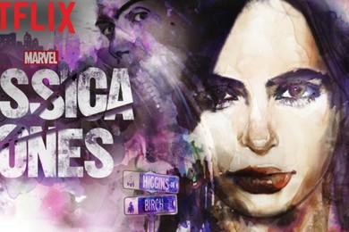 Netflix premieres Jessica Jones but an actor is feeling the pressure