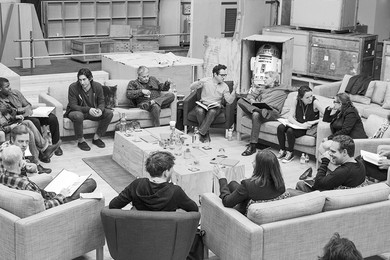 Here's the entire cast of the new Star Wars movie