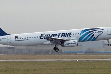 Where is the EgyptAir Flight MS804?