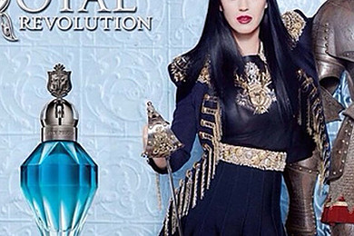 Are you feeling Royal Revolution, the new fragrance by Katy Perry?