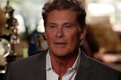 David Hasselhoff officially changes name to David Hoff - or does he?