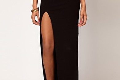Split leg maxi skirts - you feeling them?